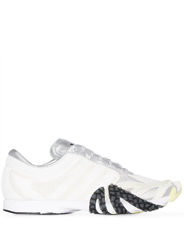 Y-3 Rehito Panelled Sneakers In White