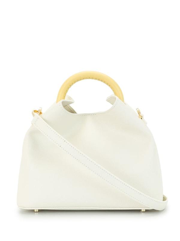 Elleme Baozi Shoulder Bag In White