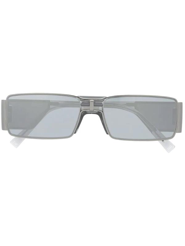 Givenchy Gv Rectangular Frame Sunglasses In Grey