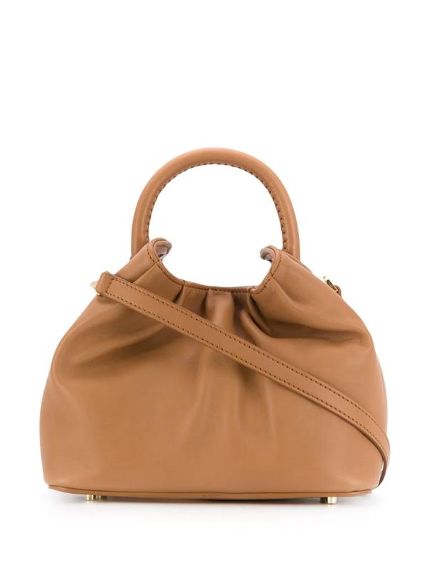Elleme Small Dumpling Tote Bag In Brown