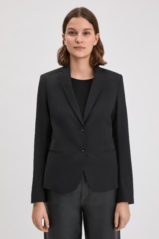 Filippa K Jackie Cool Wool Blazer In Black