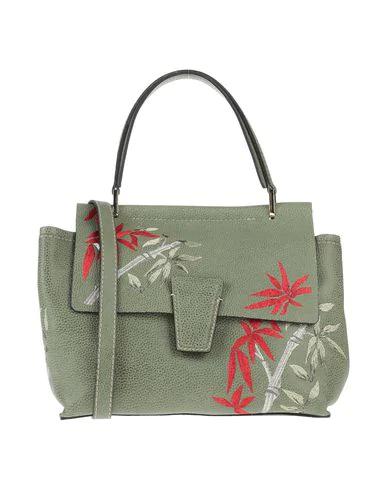 Gianni Chiarini Handbag In Military Green