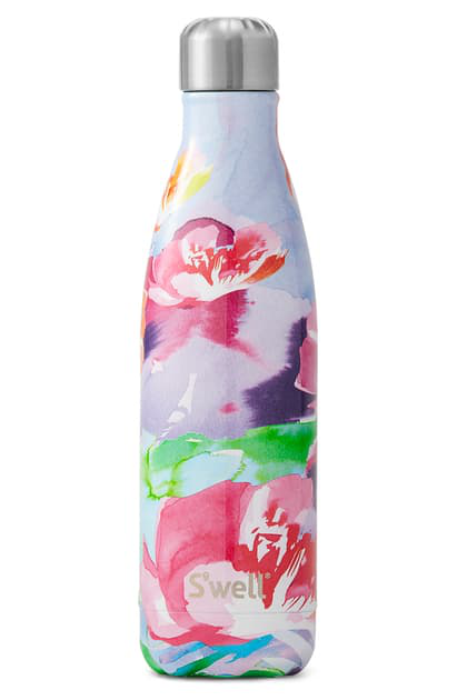 S'well Lilac Posy 25-ounce Insulated Stainless Steel Water Bottle In Purple