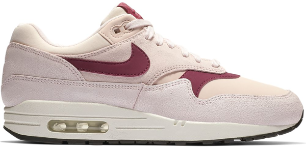 Pre-owned Nike  Air Max 1 Barely Rose True Berry (w) In Barely Rose/true Berry-summit White