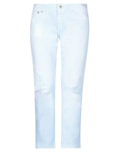 Dondup Denim Pants In Sky Blue