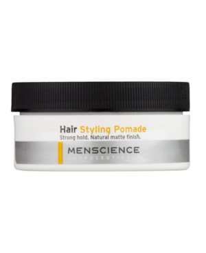 Menscience Hair Styling Pomade Strong Hold Matte Finish For Men 2 oz