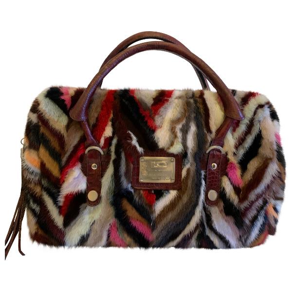 Luis Onofre Multicolour Mink Handbag