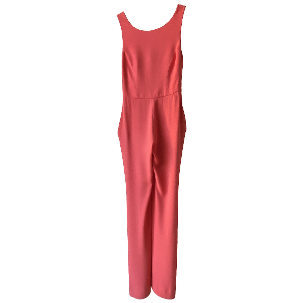 Roberto Capucci Red Jumpsuit
