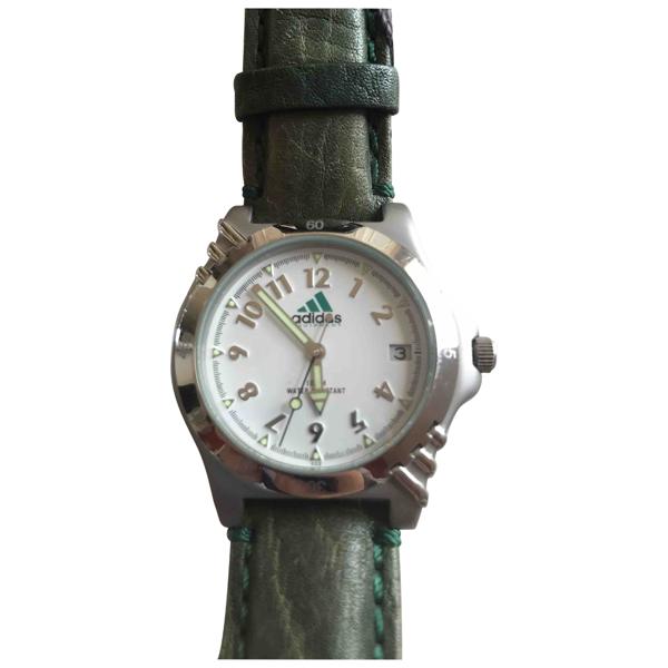 Adidas Originals Green Steel Watch