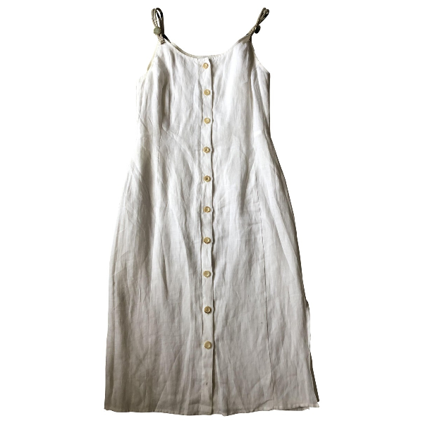 Altuzarra White Linen Dress
