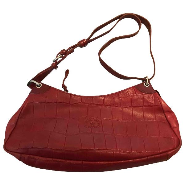 Il Bisonte Red Leather Handbag