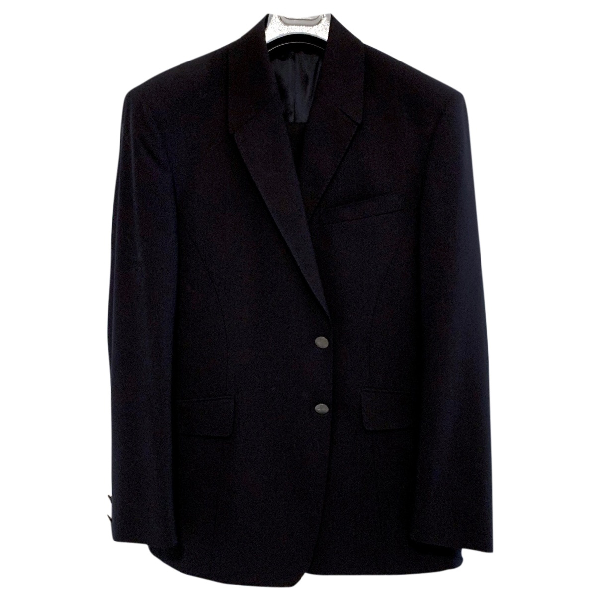 Mugler Black Wool Suits
