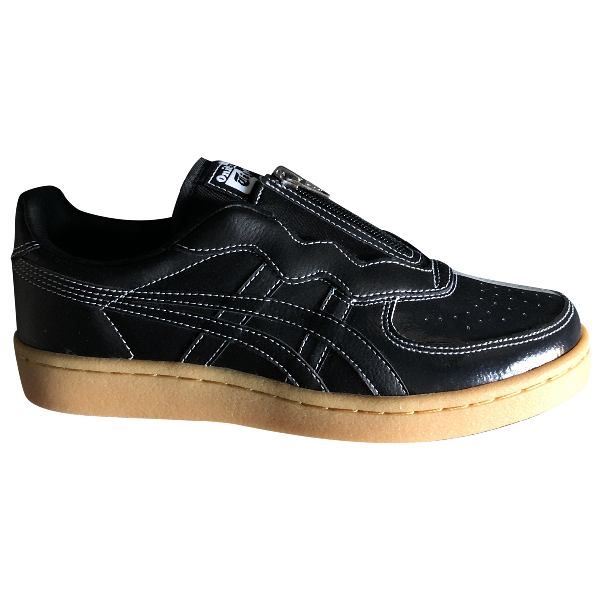 Tiger Of Sweden Black Leather Trainers