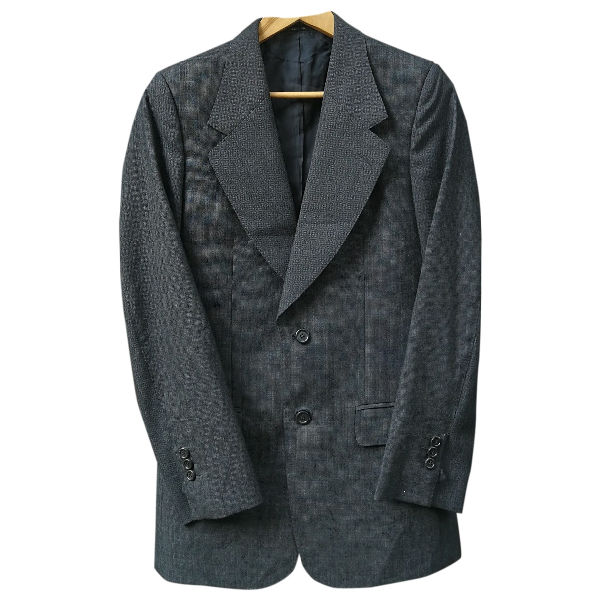 Saint Laurent Anthracite Wool Jacket