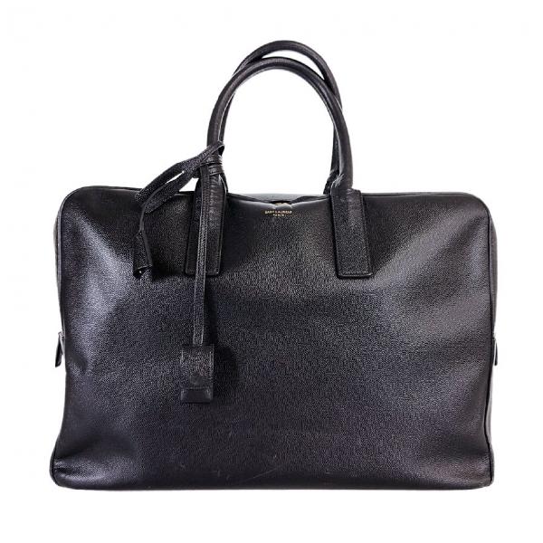 Saint Laurent Black Leather Bag