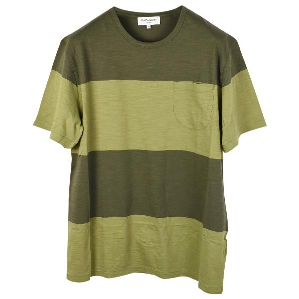Ymc You Must Create Green Cotton T-shirts