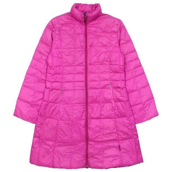 Moncler Long Pink Coat
