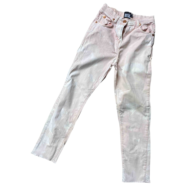 Pre-owned House Of Holland Cotton - Elasthane Jeans