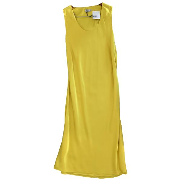 Protagonist Yellow Silk Dress