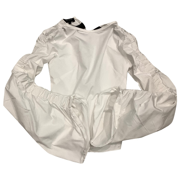 Sid Neigum White Cotton  Top