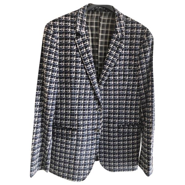 Tonello Blue Cotton Jacket