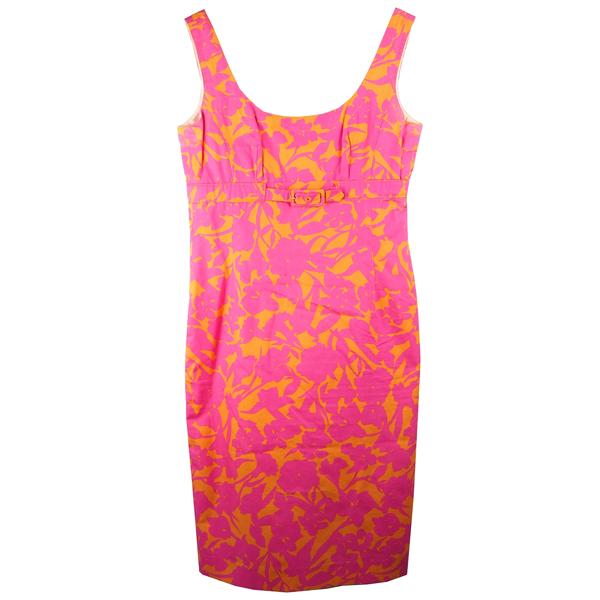Pre-owned Bogner Pink Cotton Dress