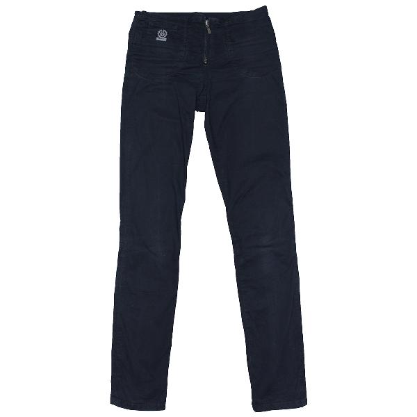 Belstaff Navy Cotton Trousers