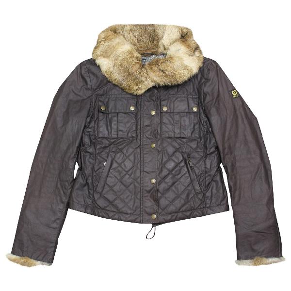Belstaff Brown Cotton Jacket