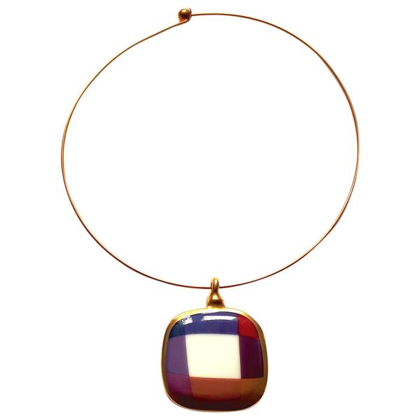 Pre-owned Bernardaud Multicolour Ceramic Necklace