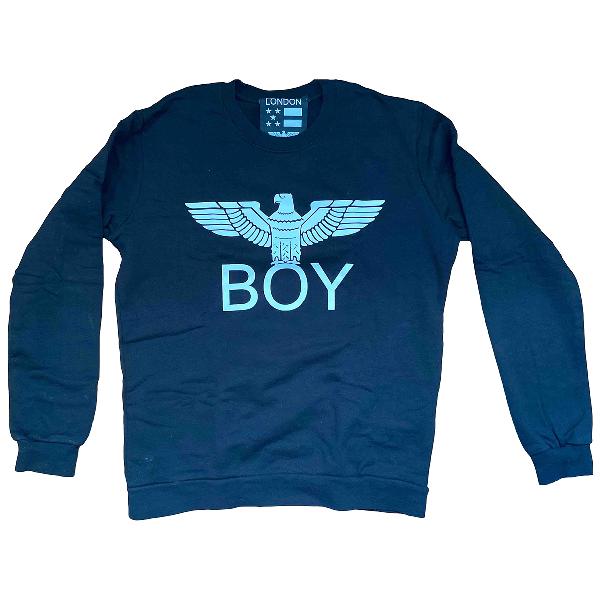 Boy London Black Cotton Knitwear