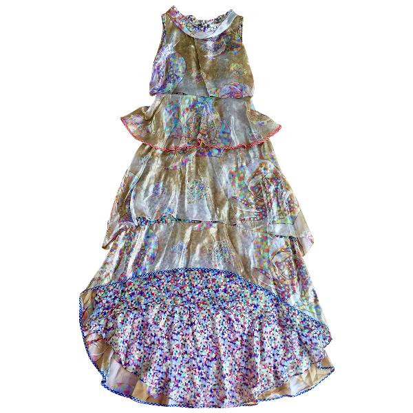 Wunderkind Multicolour Silk Dress