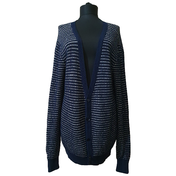 Carven Blue Wool Knitwear