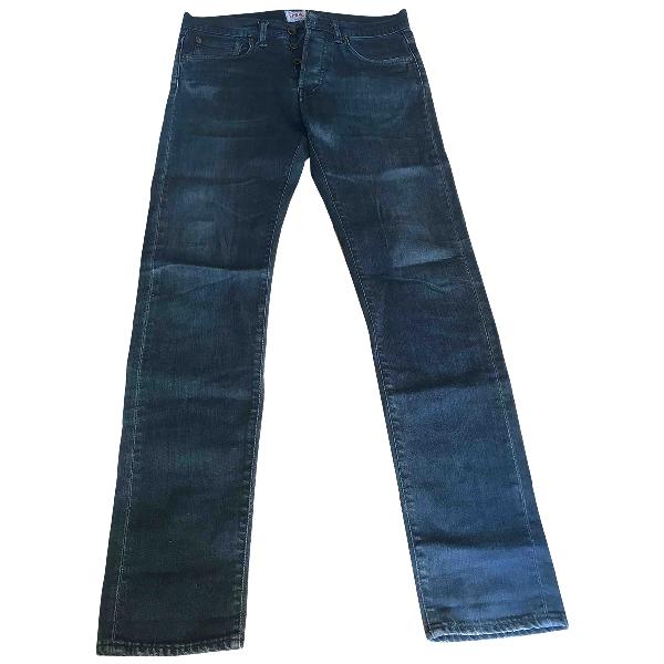 Edwin Anthracite Cotton Jeans