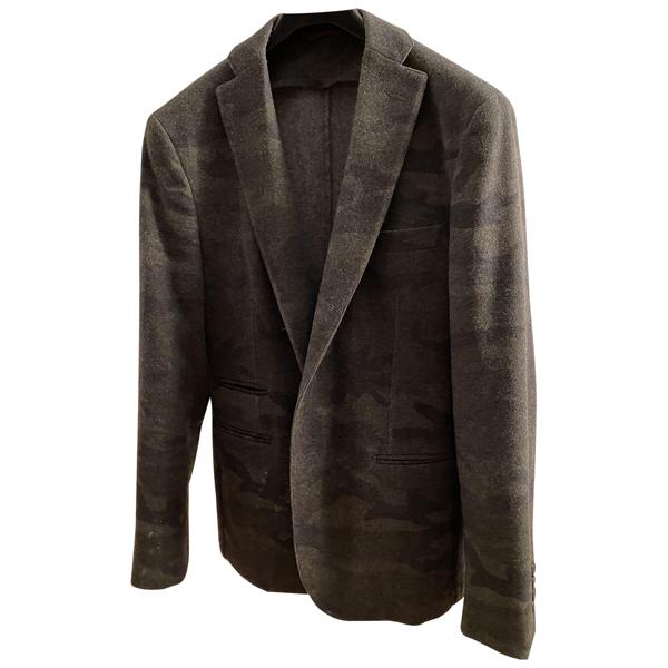 Tonello Anthracite Wool Jacket