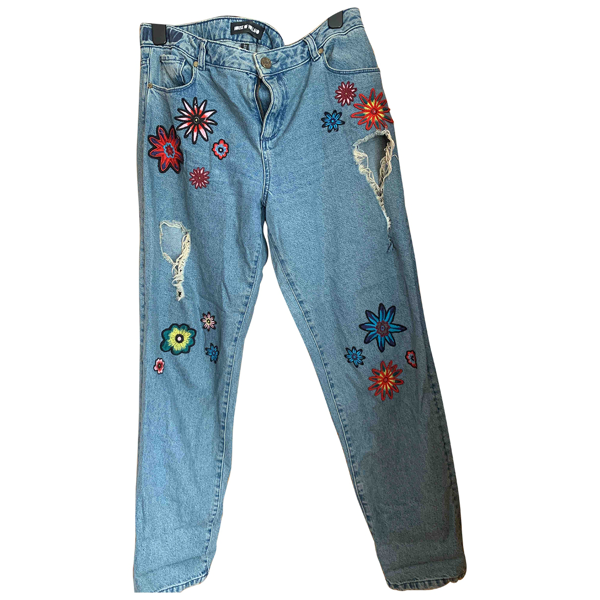 Pre-owned House Of Holland Blue Denim - Jeans Jeans