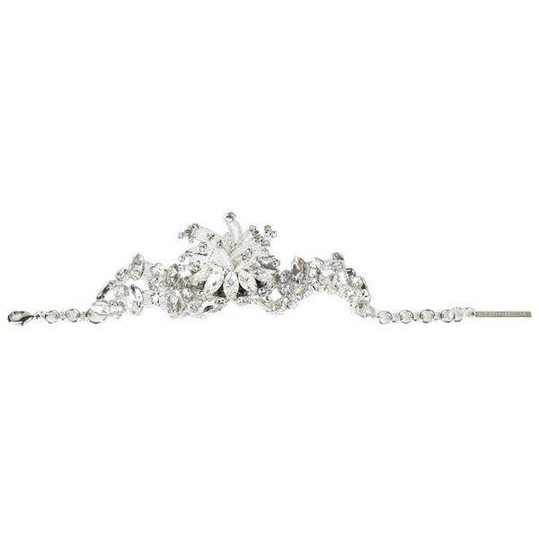 Christopher Kane Silver Glass Bracelet