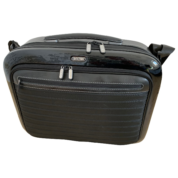 Rimowa Black Leather Bag