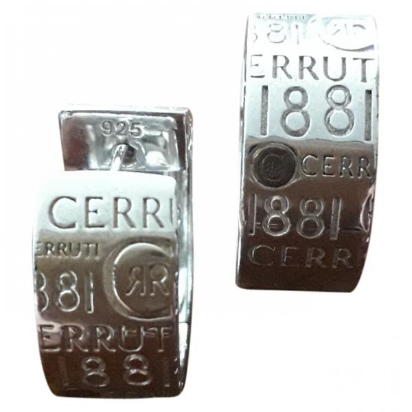Pre-owned Cerruti 1881 Silver Silver Earrings