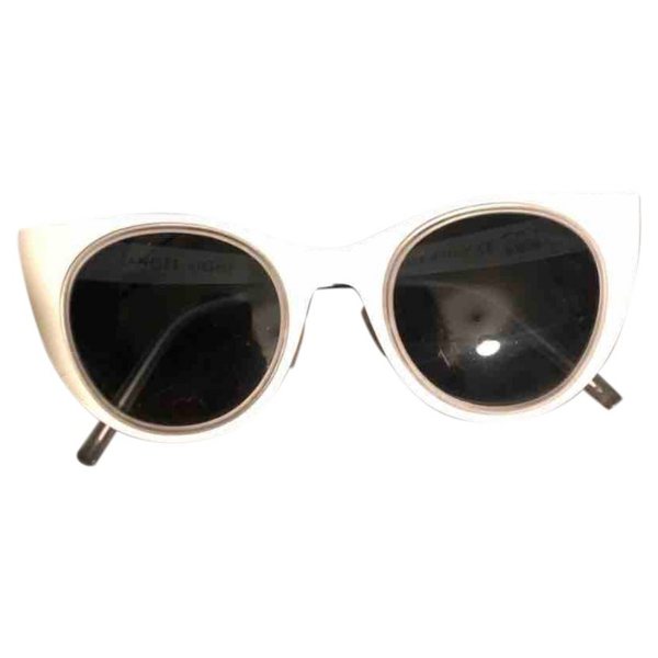 Pre-owned Kyme White Metal Sunglasses