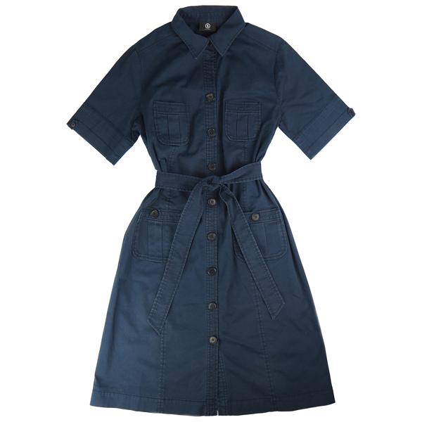 Pre-owned Bogner Navy Cotton Dress