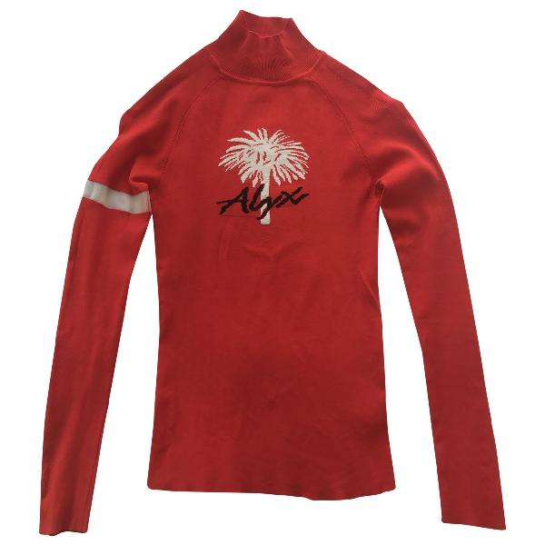 Alyx Red Knitwear