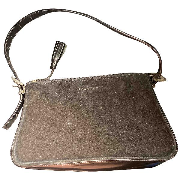 Givenchy Black Velvet Handbag