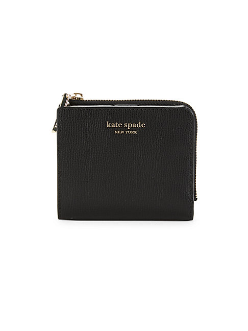 Kate Spade Margaux Small Bifold Wallet In Black