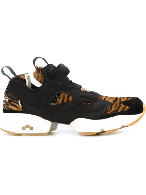Reebok Instapump Fury Jungle Book Sneakers In Black