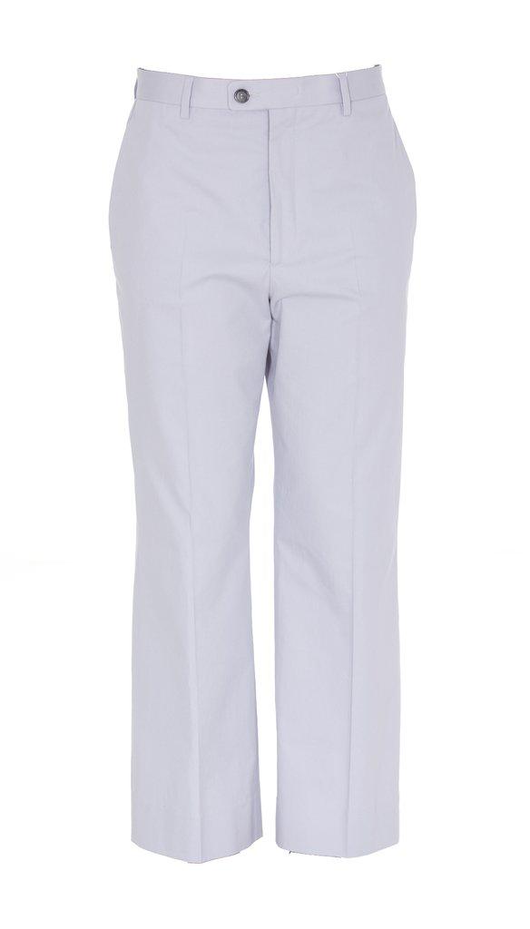 Maison Margiela Trousers Chino Women Wisteria In Grey