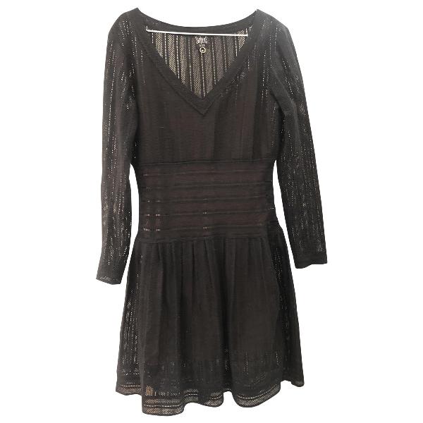 Swildens Black Cotton Dress