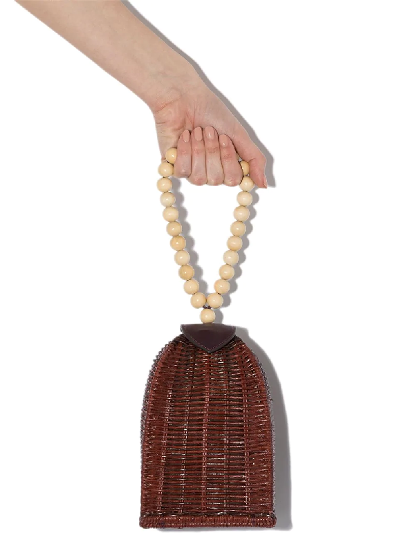 Ulla Johnson 'raya Trapeze' Mini-tasche In Red