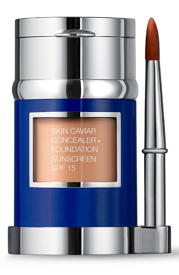 La Prairie Skin Caviar Concealer + Foundation Sunscreen Spf 15 In Soft Ivory