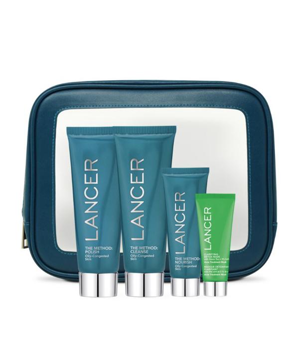 Lancer The Method Intro Kit For Oily Skin In White
