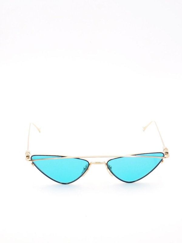 Chrome Hearts Boobgeoisie Sunglasses In Gold